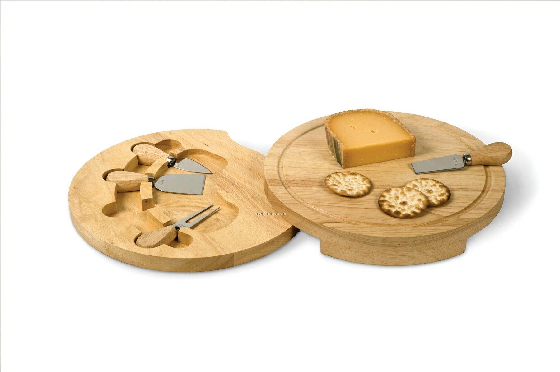 Small Swivel Cheese Board 5 Piece Set