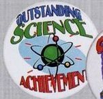 Stock Recognition Button - Outstanding Science Achievement
