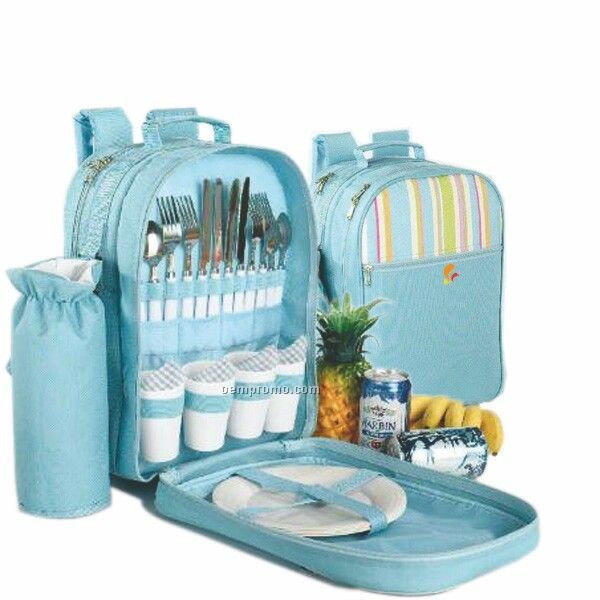 Cheap Picnic Basket For 4 : Picnic backpack for four china wholesale