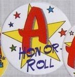 Stock Recognition Button - A Honor Roll