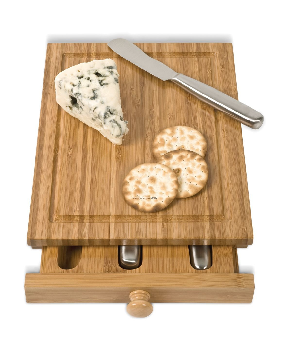 Bamboo Cheese Tools Case/ Cutting Board