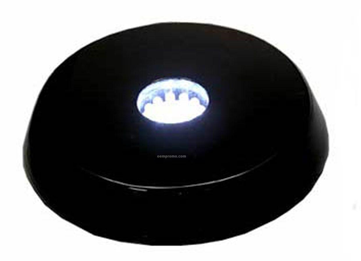 Black LED Base With 12.5 Cm (5