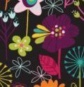 Bright Flowers Oven Mitt