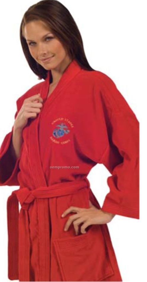 Color Terry Velour Kimono Robe (2xl)