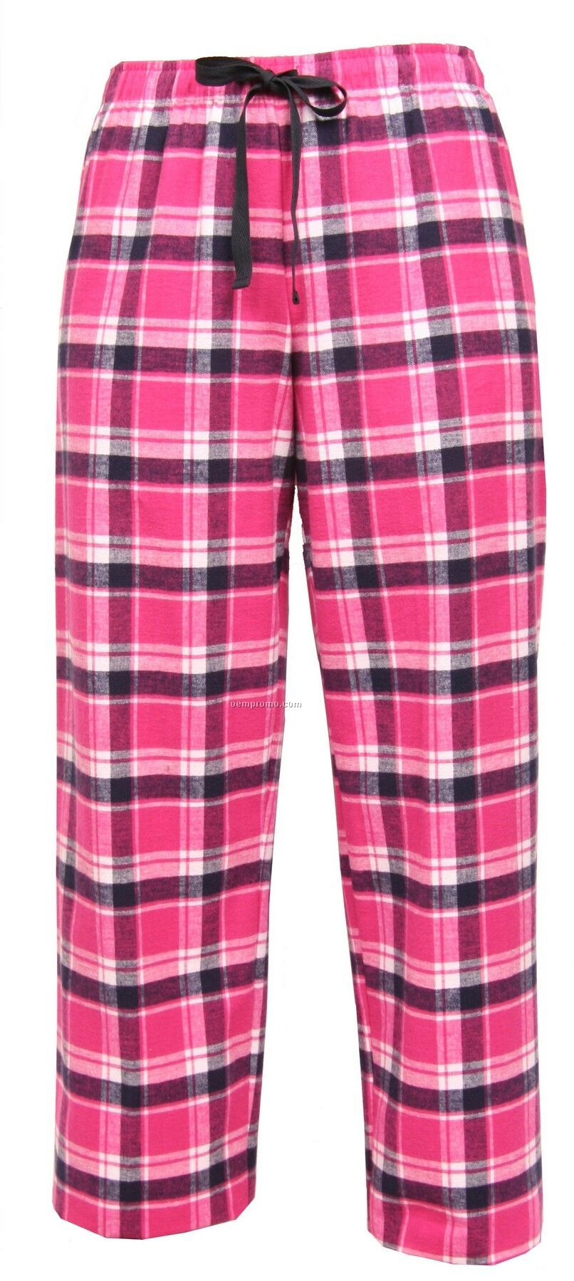 Youth Manhattan Plaid Fashion Flannel Pant With Tie Cord