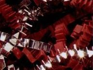10# Red & Silver Paper & Metallic Blends Crinkle Cut Paper Shreds