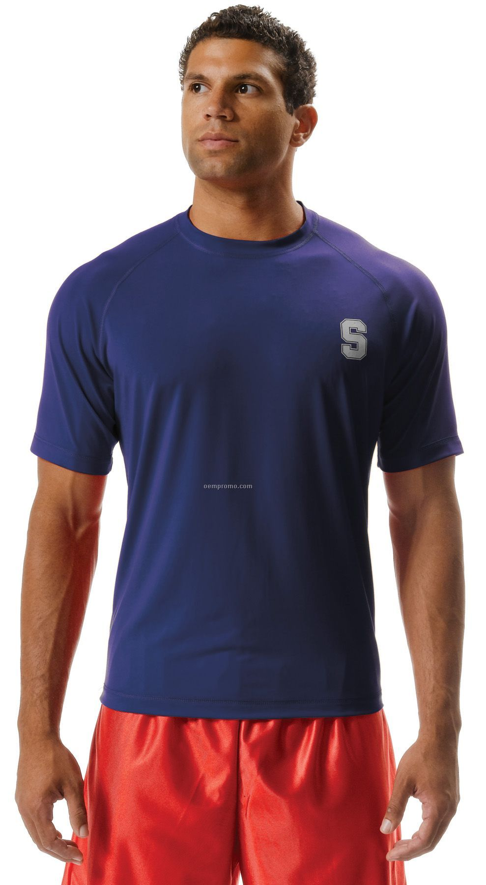 N3213 Adult 2-way Stretch Short Sleeve Performance Tee