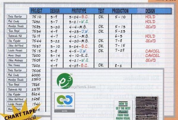 """Changeable Planner Board W/ 1"""" Horizontal Grid (36""""X48"""")"""
