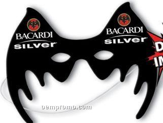 "Custom Shaped 8"" Plastic Halloween Mask"