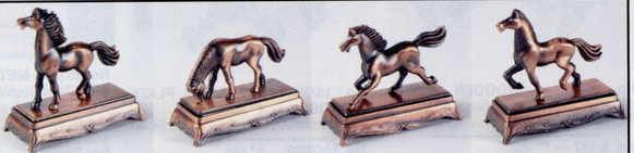 Bronze Metal Pencil Sharpener - Assorted Horse
