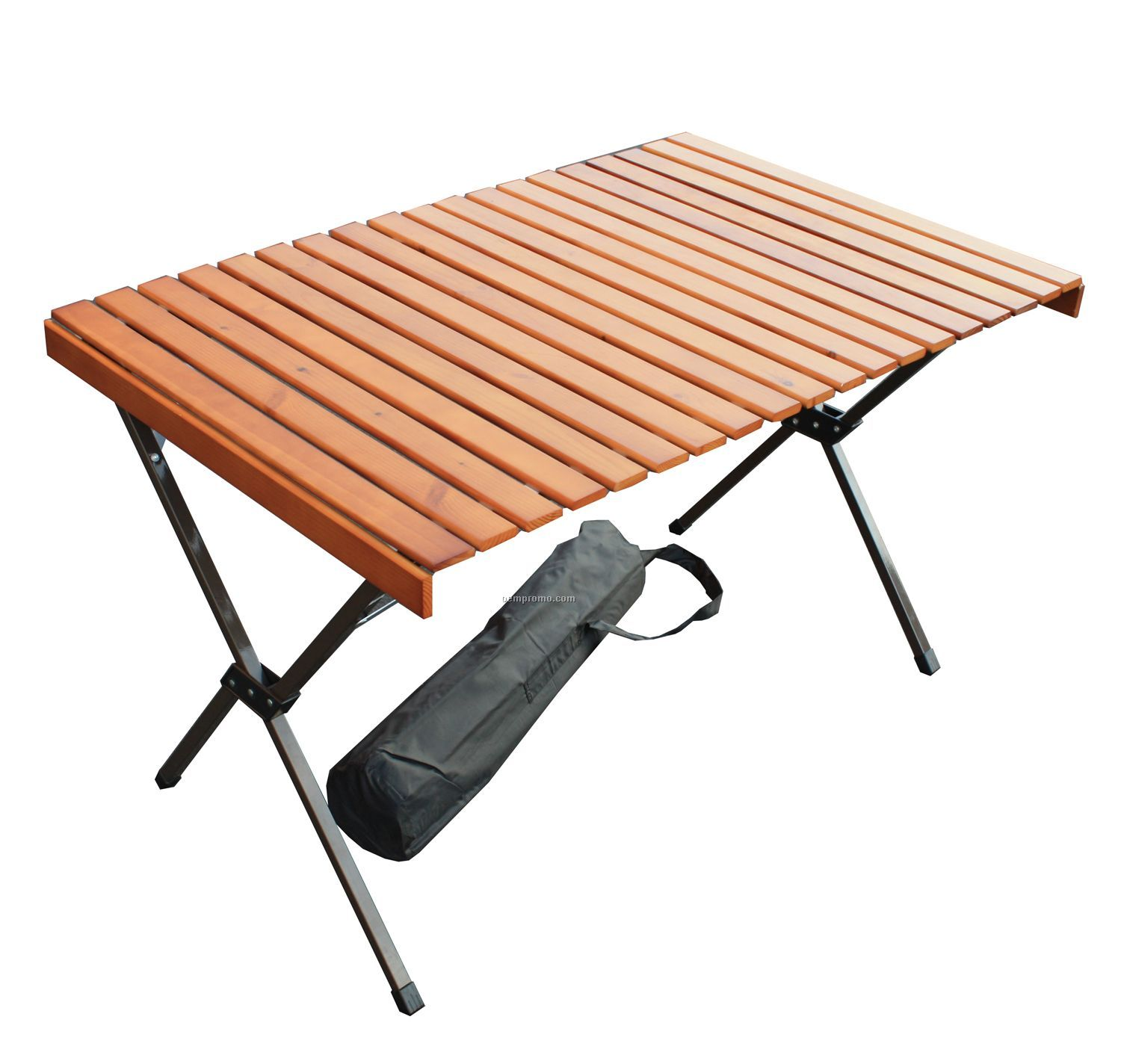 Large Wood Picnic Portable Table In A Bag. Large Wood Picnic Portable Table In A Bag  43 X27 X27   China