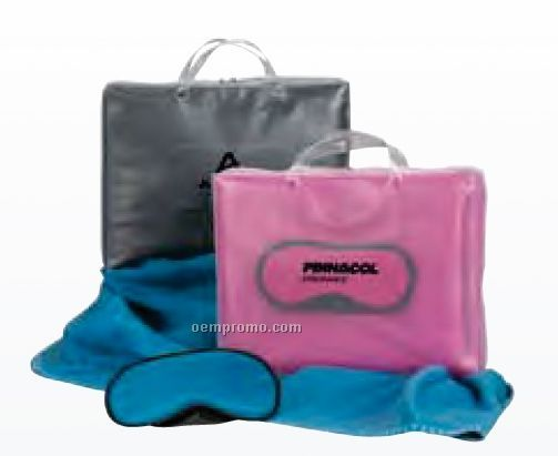 Soren Berry Zest Pink Comfort Travel Set