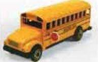 Early American Bronze Metal Pencil Sharpener - Yellow School Bus