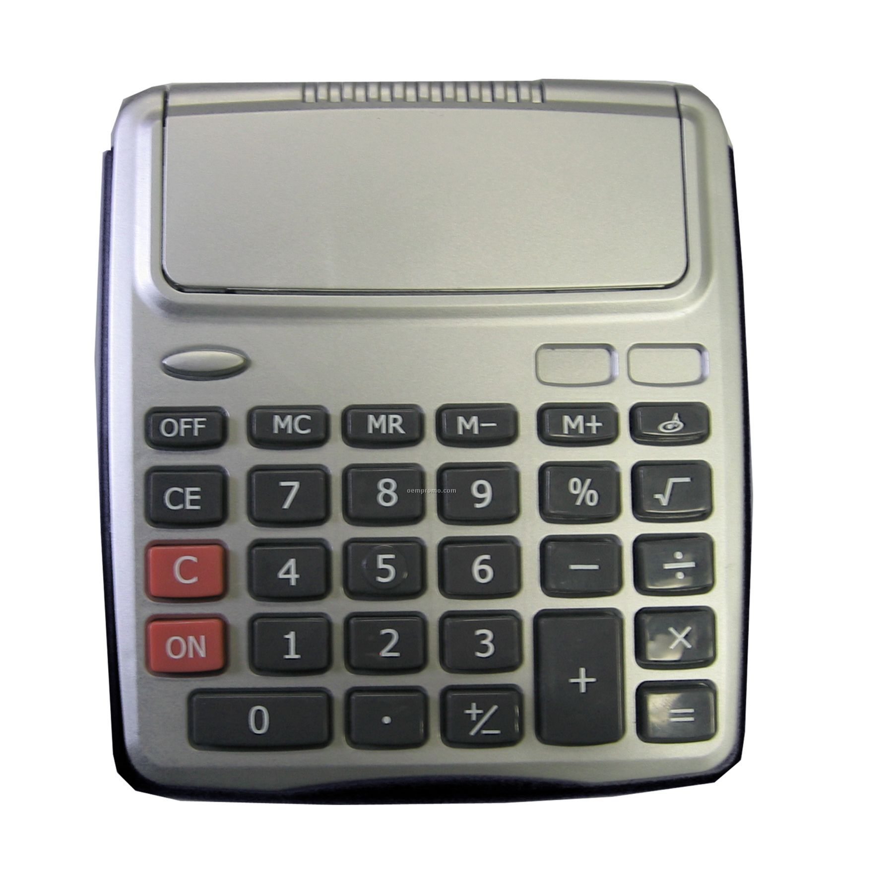 Large Push Button Flip Cover Desk Top Calculator
