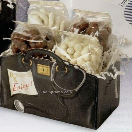 Small Black & White Gift Box