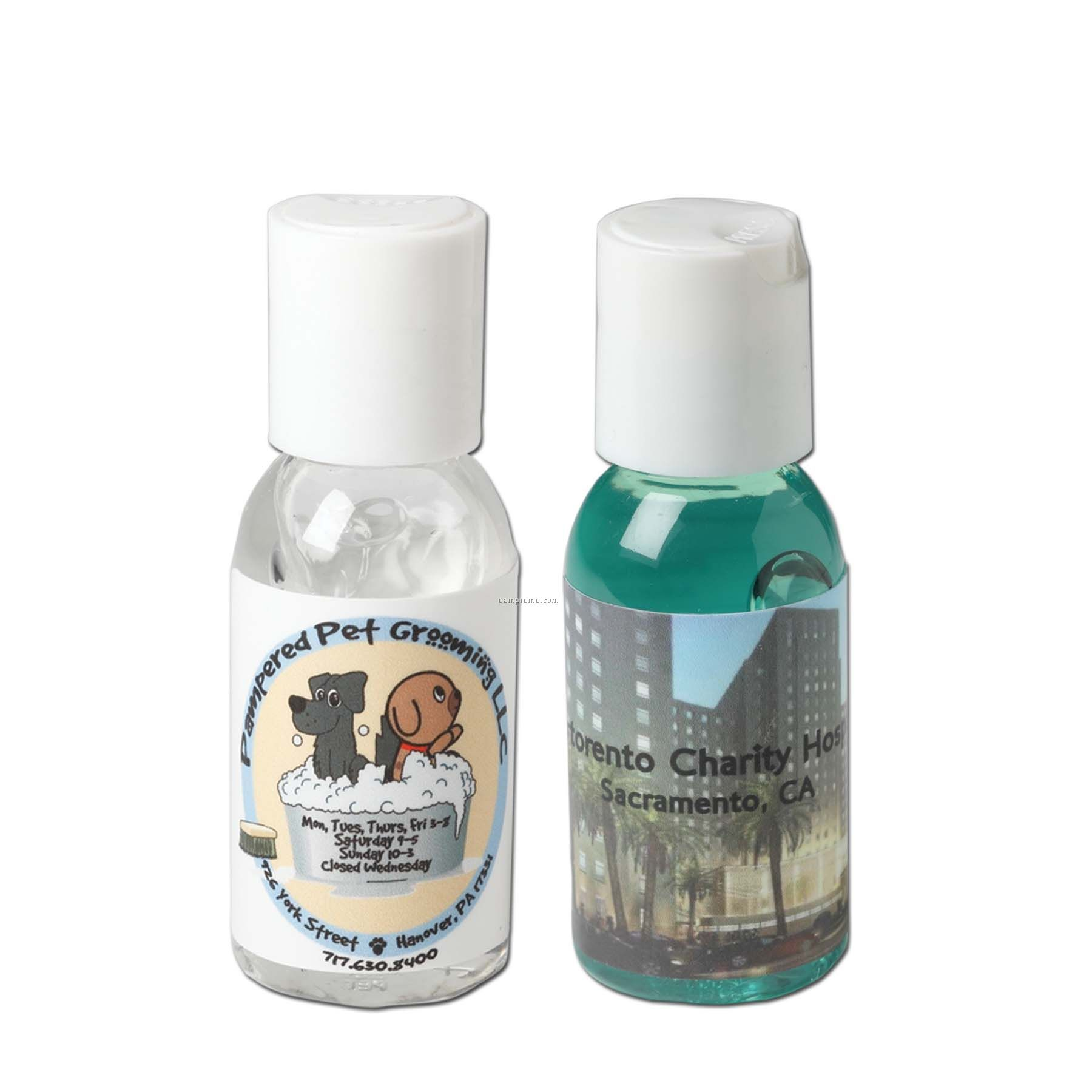 Antibacterial Hand Sanitizing Gel - 1 Oz.