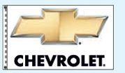 Stock Dealer Logo Flags - Chevrolet (3'x5')