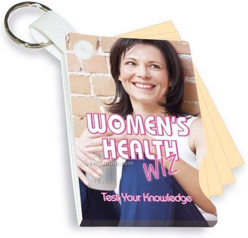 Women's Health Wiz Key Tag