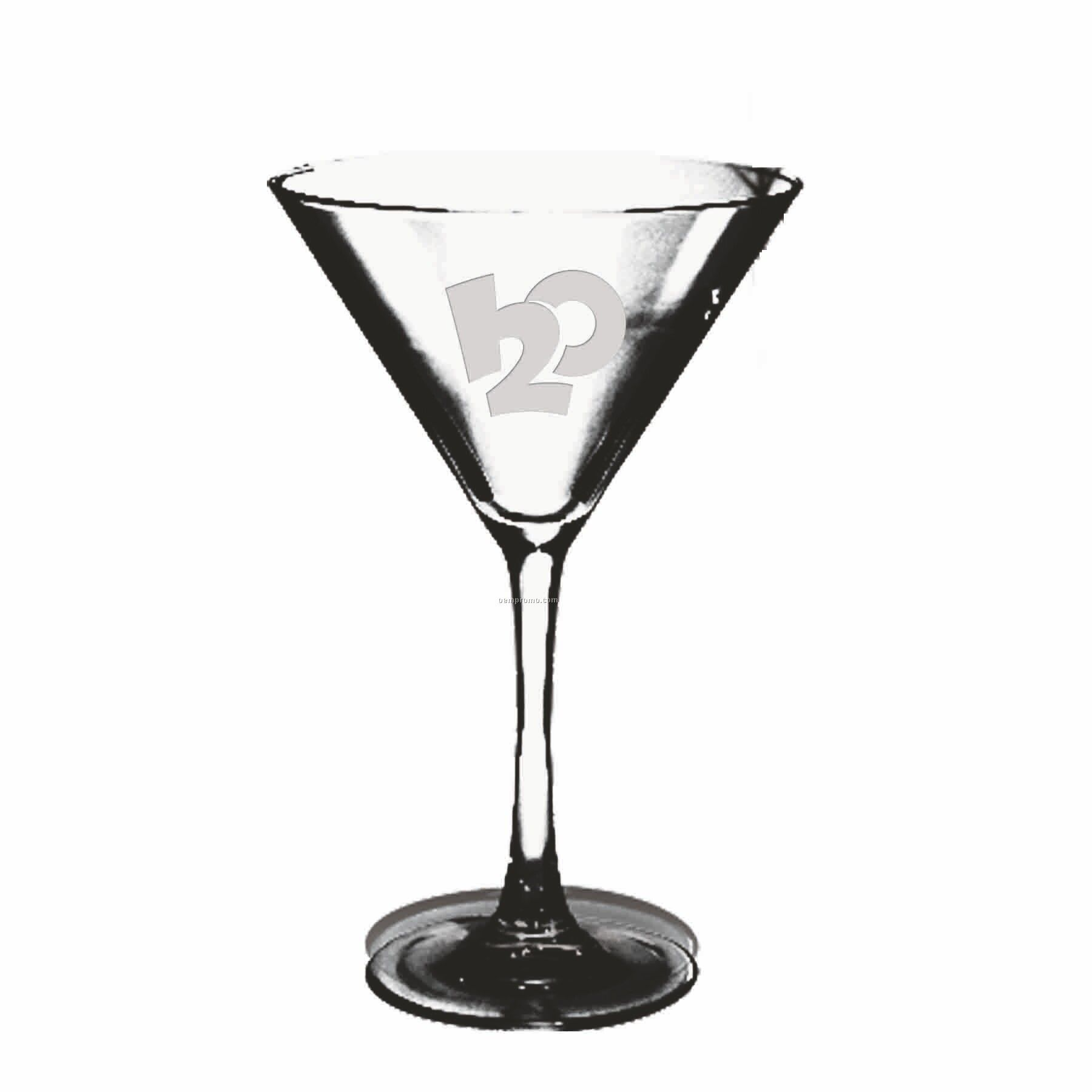 10 Oz. Martini Selection Stemware (Deep Etch)