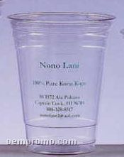 16-18 Oz. Clear Plastic Soft-flex Disposable Tumbler