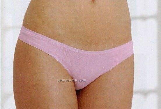 Bella Cotton Spandex Low Rise Thong Bikini Colors