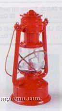 Early American Bronze Metal Pencil Sharpener - Red Railroad Lantern