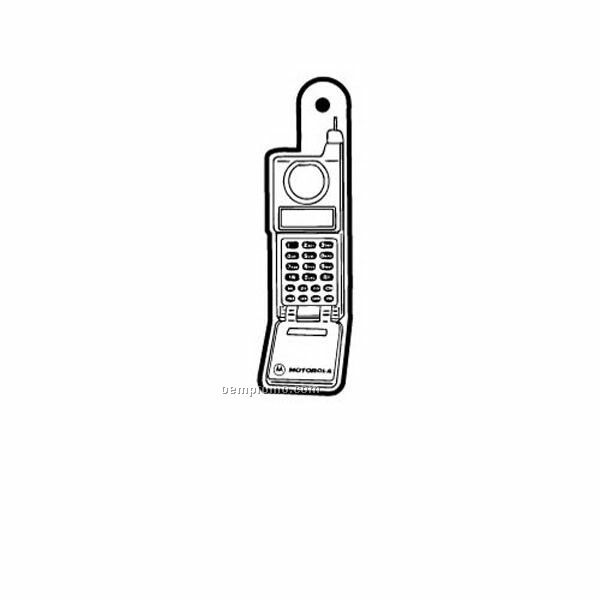 Stock Shape Collection Cellular Phone 1 Key Tag