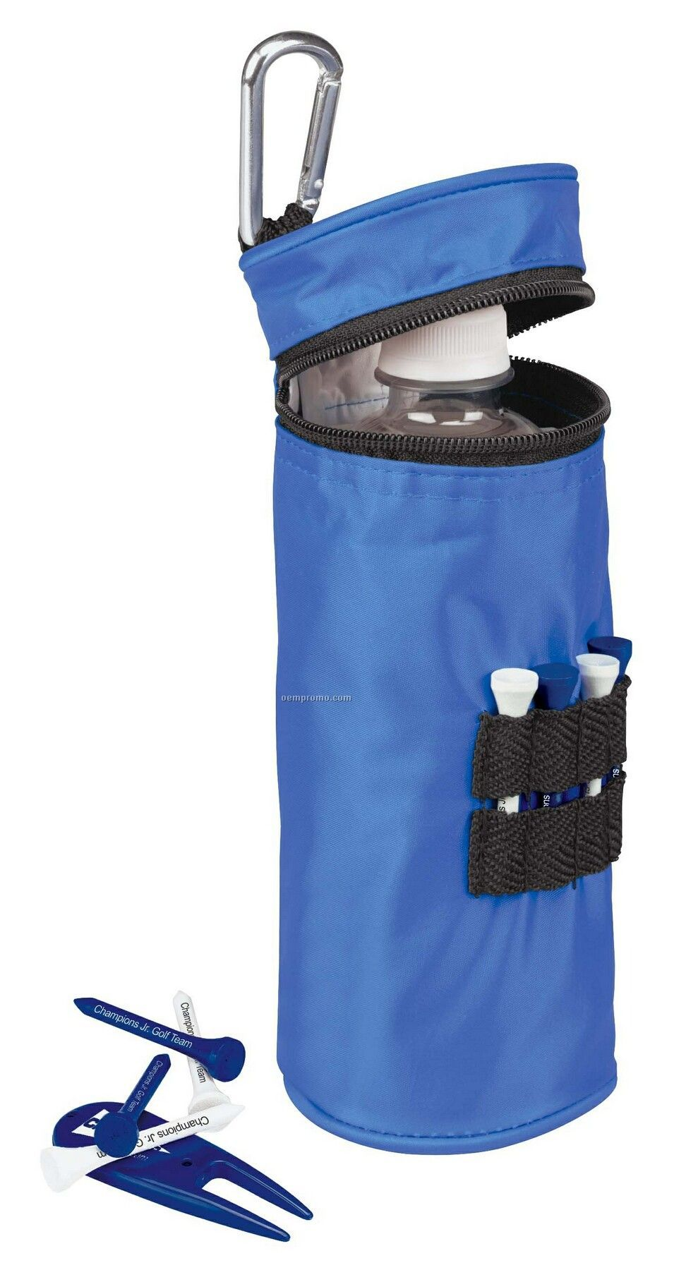 Tee Off Water Bottle Cooler With Tees Value Pak