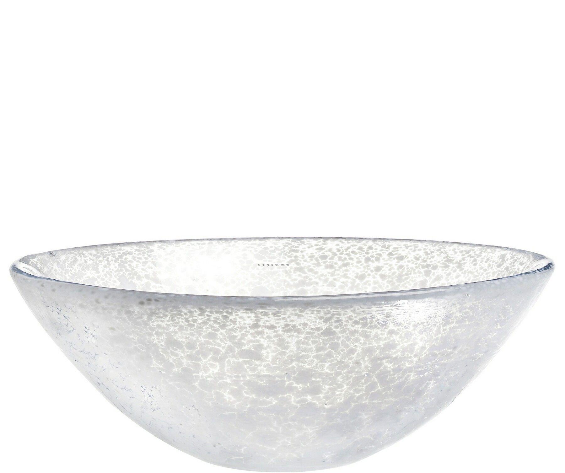 Tellus Large Glass Bowl By Anna Ehrner
