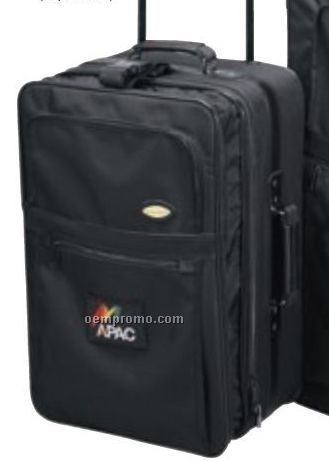 The Sapphire Collection Expandable Pull-n-go Luggage Bag