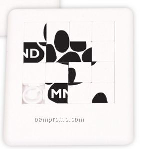 White Slider Puzzle (Printed)