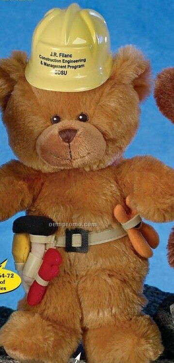 "10"" Honey Smitty Bear Stuffed Animal"