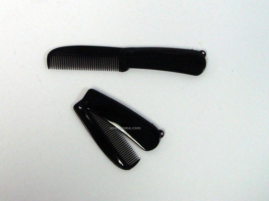 Folding Black Comb