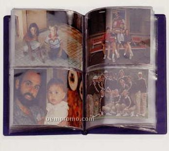 "Stock Vinyl Double Photo Album (3 1/2""X5"" Photo)"