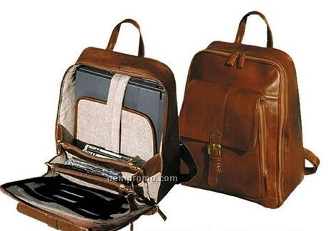 Leather Backpack With Laptop Compartment | Crazy Backpacks