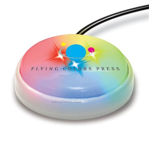 USB Light Up Smart Button For Macintosh (Color Changing)