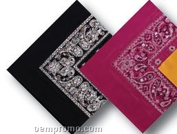 100% Cotton Imported Paisley Bandanna
