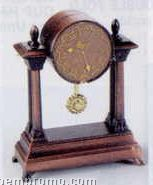 Bronze Metal Pencil Sharpener - Mantle Clock