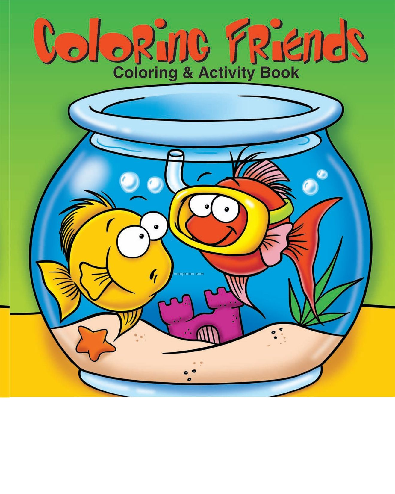 Coloring Friends Coloring Book Fun Pack