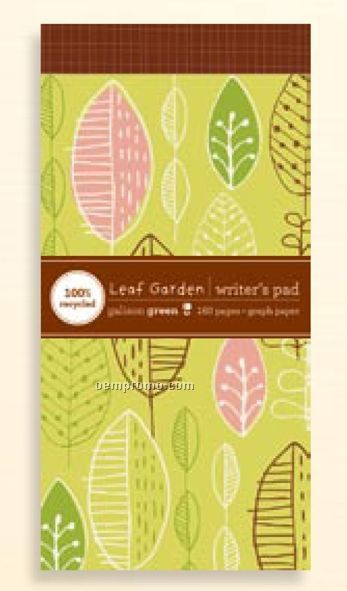 Leaf Garden Writer's Notepad
