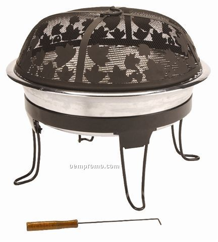 Coleman Pack-away Fireplace & Grill (Blank)