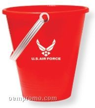 Red Pail With Shovel (Printed)