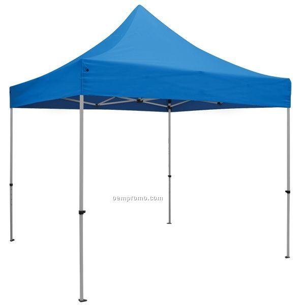 Showstopper Premium 10' Square Tent / Blue/ Unimprinted