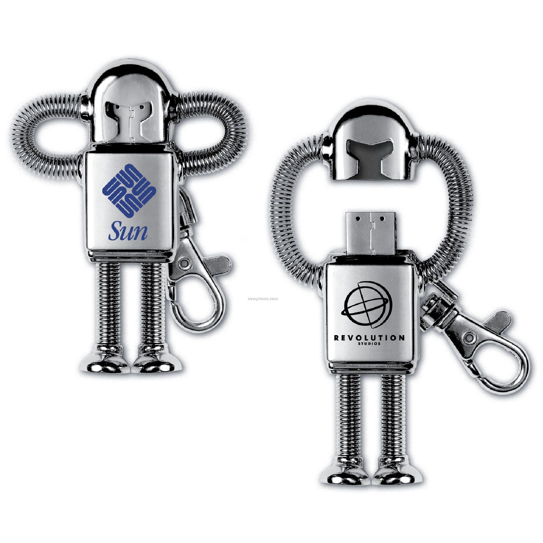USB 2.0 Robot Flash Drive Rd