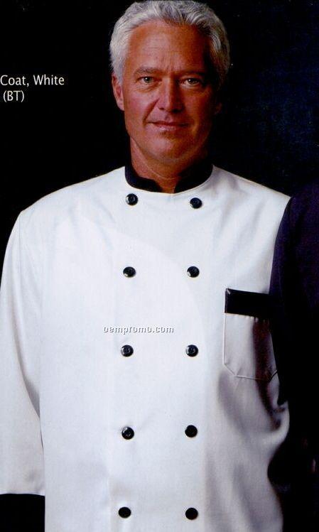 Chef Designs Garnish Chef Unisex Coat