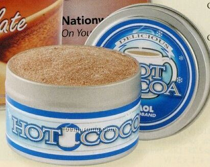 Gourmet Hot Chocolate W/ Mini Marshmallows In Large Tin