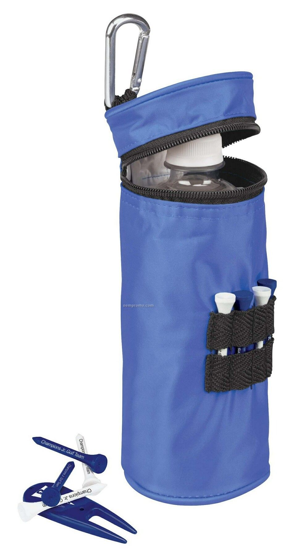 "Tee Off Water Bottle Cooler With 2 3/4"" Tees"
