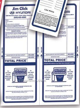 V-t Cre8tive Pre Printed Custom Laser Form W/ Paper Bak (2 Up Per Sheet)