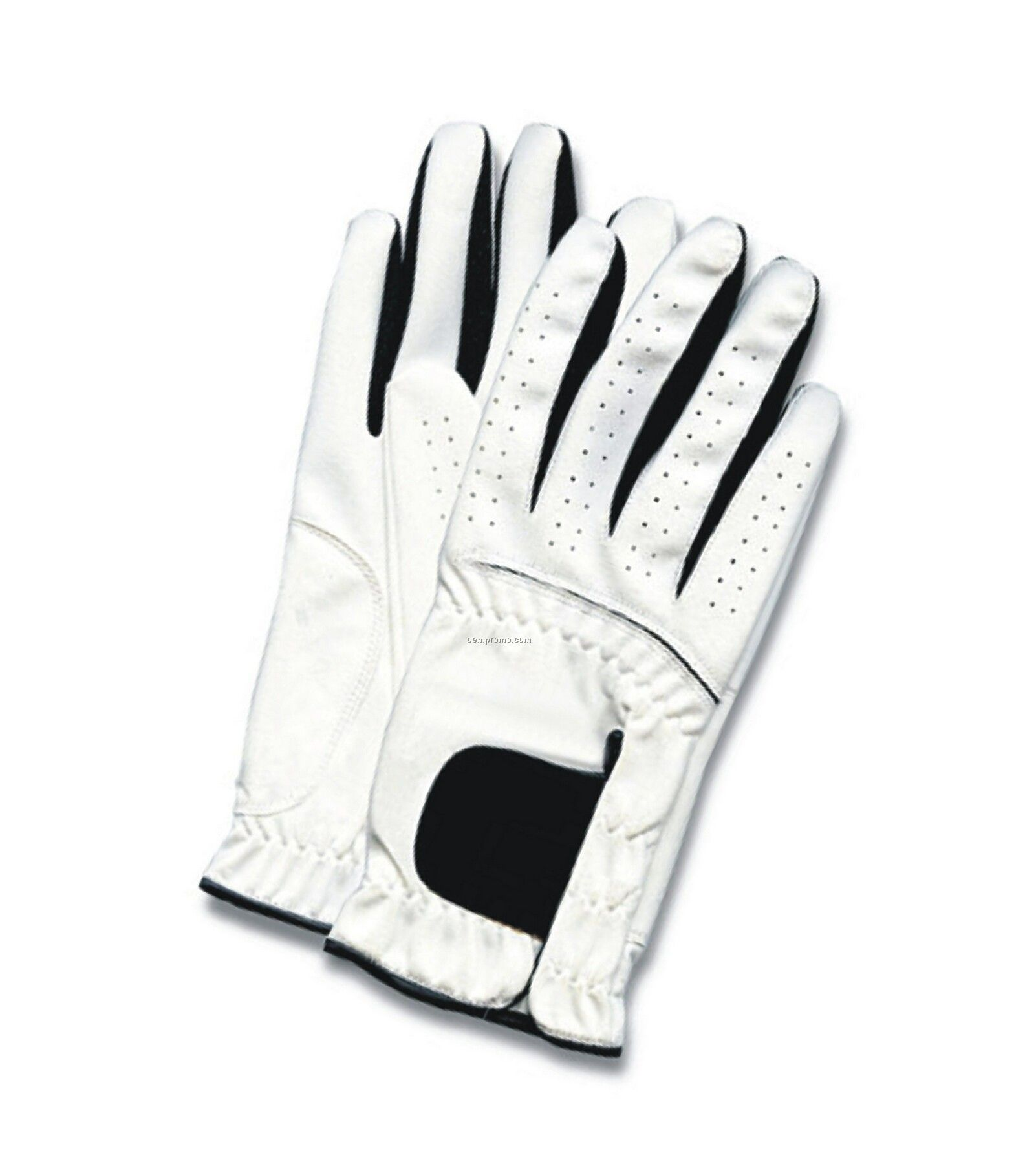 Black leather golf gloves -  White Golf Gloves Gloves