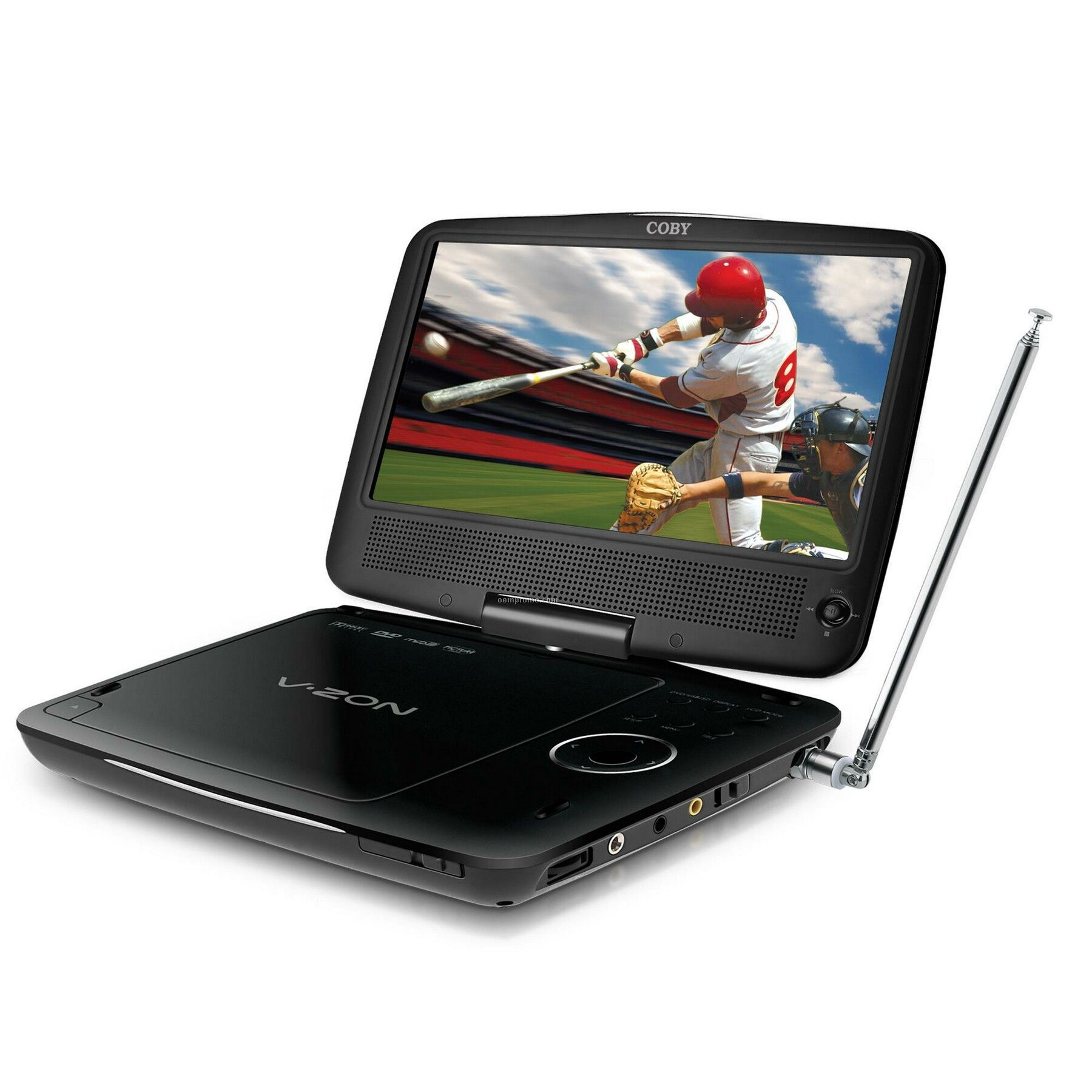"9"" Portable DVD/CD/Mp3 Player With Atsc Digital Tv"